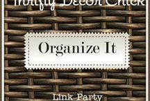 Organization  / by Kathy Hanks