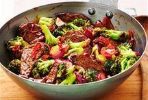 biefstuk met brocolli