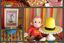 curious george party / おさるのジョージ birthday party