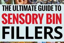 *Sensory Bins & Loose Parts