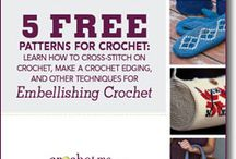 Crochet Edging and Embellishments / Crochet edging is a great way to enhance a project with crochet borders. These free crochet edging patterns will have you making fantastic projects in no time! / by Crochet Me
