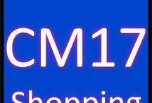 CM17 Shopping / Sales CM17 Postcode district Harlow