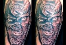 Judge dredd tattoo