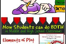 Elements of Literature Lessons and Activities / Lessons and activities designed to teach different elements of literature!