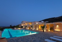 The Exterior of Calme Boutique Hotel in Paros!