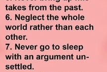 Life rules and quotes