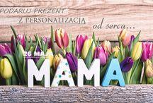 Prezenty na Dzień Mamy / Prezenty z personalizacją prosto od serca dla każdej Mamy!  http://bit.ly/1bA0aYv