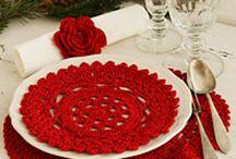 Crochet - Placemats, Coasters, Doilies etc