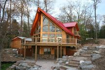 "Watercress Project / ""Watercress"" Project the nation first LEED for Homes ""Platinum"" Log Home project."