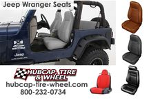 Jeep Seats / If you need to replace your Jeep Wrangler seats, come visit us: http://www.hubcap-tire-wheel.com/seating.html