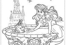 Ariel Coloring