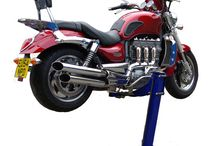 BigBlue Motorcycle Lift / Best Wheels free lift available