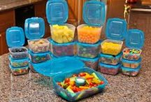 Mr Lid and Plastic Storage Containers