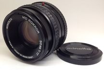 MINOLTA MC ROKKOR PG 50mm f/1.4 Manual Focus Lens