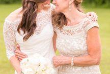 娘の結婚式 母のドレス