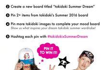 """tokidoki — Summer Dream / My  """"dream"""" tokidoki summer wardrobe.  #tokidokixSummerDream"""