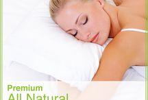 Organic cotton pillows   Natural latex pillow – Well Living Shop