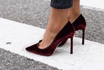 These shoes are made for walking....