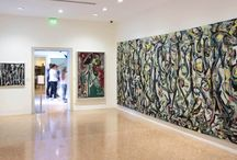 JACKSON POLLOCK'S MURAL: Energy Made Visible / A touring exhibition, curated by David Anfam, that focuses on Jackson Pollock's Mural, commissioned in the summer of 1943 by Peggy Guggenheim for her New York townhouse