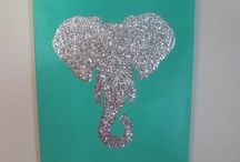 Elephants on Canvas
