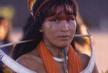 Inspiração / povos indígenas brasileiros
