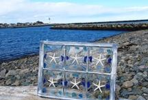 Sea Glass Window Art / by Kristen Proctor