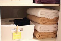Organization / Kitchen / bathroom / linen closet