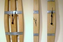 Wine Stave Projects / Small projects using staves from wine barrel