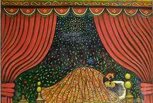 Zerihun Yetmgeta (1941 - ) / Art from Ethiopia.