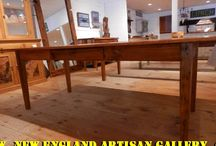Kitchen Tables & Islands / Our selection of farm tables & kitchen islands made from reclaimed wood & other materials found all over New England.