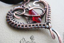 Wire wrap Сердце / wire wrap