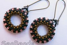 SeaBeads Free PDF Beading Tutorials / Free PDF tutorials you can download from my website: https://seabeads.wordpress.com