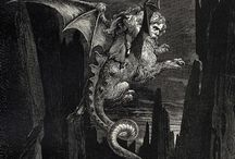 Dante's Inferno woodcuts