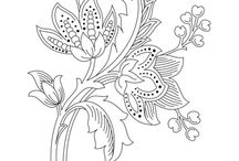 Embroidery Designs - Outlines
