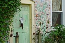 Mosaik in the garden