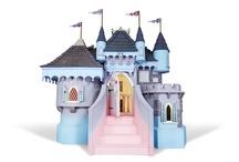 Pretty Princess Castle / Bespoke playhouse, handmade in England.