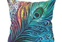 Peacock Color Decor