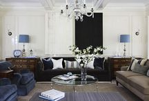 Living Rooms- S.B. Long Interiors / Collection of Living Rooms designed by S.B. Long Interiors