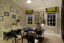 Cozy Home Offices & Work-spaces / by DFD House Plans