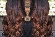 degradè hair