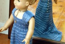 Knitted dolls clothes / Clothes to suit an Our Generation, American Girl and other 18 inch dolls