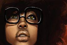 Erykah Badu Art / by Christina