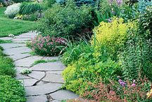 Retaining Wall and Path