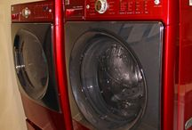 washer and dryer / by Elizabeth Londino Whiddon