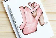 Shoe Illustation