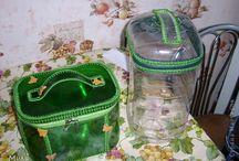 bolsa de garrafa pet e crocre