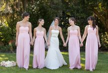 Photography: wedding pink / Wedding Photography: focus on pink accents, pink bridesmaids dresses, pink florals and pink ties and pink linens by MCG Photography based in Charleston SC. Southern Style.