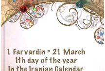 1 Farvardin = 21 March / 1th day of the year In the Iranian Calendar www.chehelamirani.com