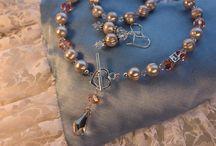Äiti-lapsi korut, Mothers Jewelry / Äiti-lapsikoruja, valmistettu käsityönä.