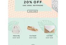Fashion mailing & websites